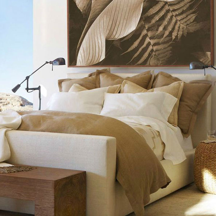 Natural style bedroom design deniz home for Bedroom ideas natural