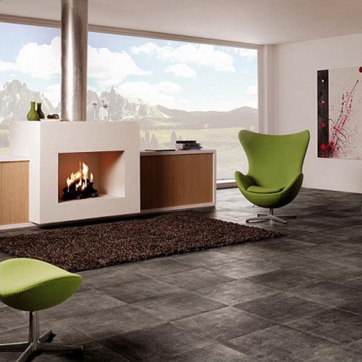 Naturalistic Style Ceramic Floor Tile Deniz Home